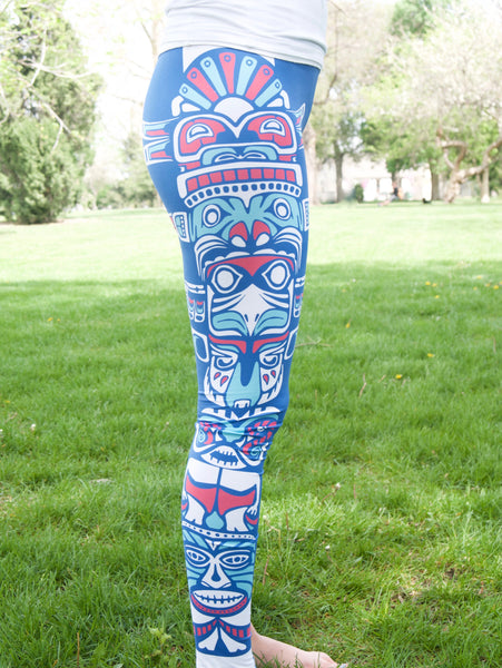 I Totem To Run Leggings