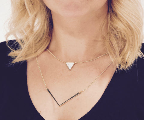 More Than Obtuse Necklace