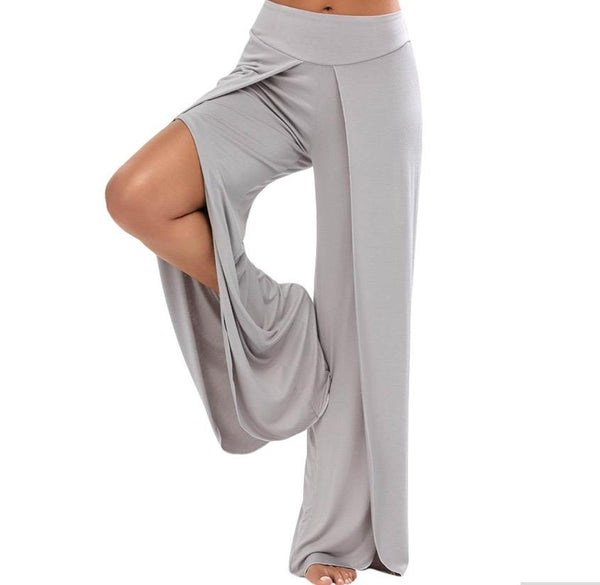 On The Edge High Waisted Palazzo Pants
