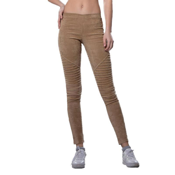 Per-Sueded Envy Moto Jeggings