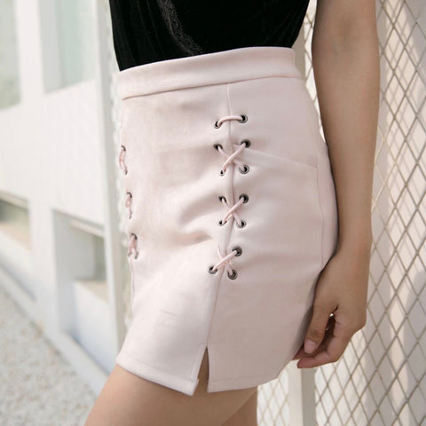 Take What's Yours High Waisted Mini Skirt