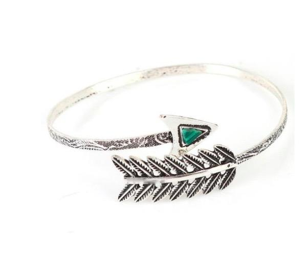Vintage Arrow Open Bangle Arm Cuff