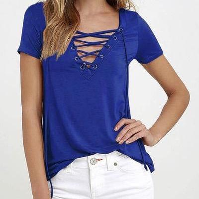 Wild At Heart Lace-up Shirt