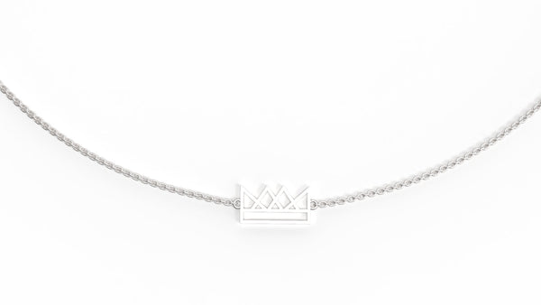 You Are Royalty Sterling Silver Necklace