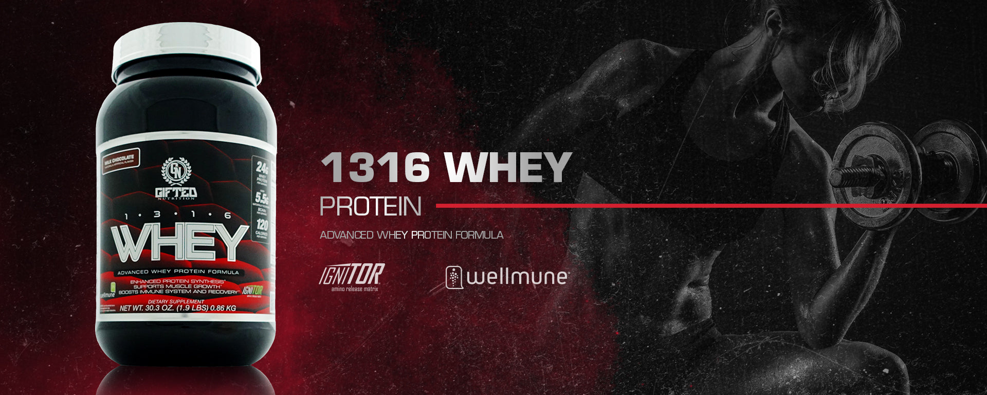 Image result for gifted 1316 WHEY PROTEIN (5 LBS) Nutrition fact