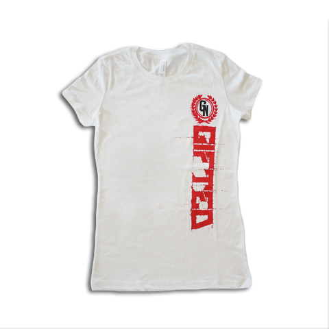 Gifted T-shirt - Vertical Logo (Women)