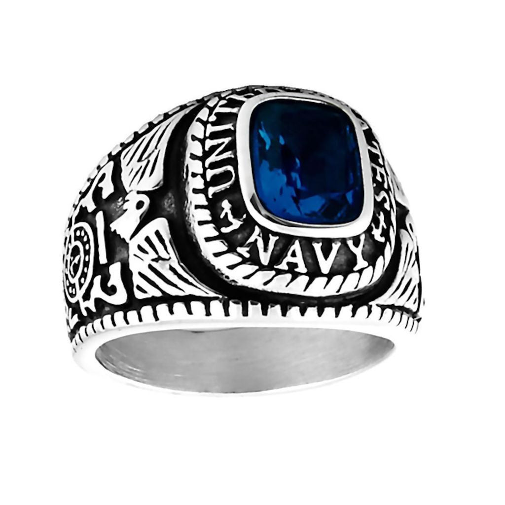 ring for rings black with accessories item stainless pattern steel color states jewelry stone vintage men marine from army usmc united red navy plated cz eagle mens green in corps gold