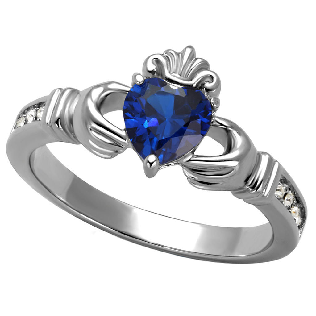 her silver round white rings lajerrio ring sterling promise sapphire for cut jewelry