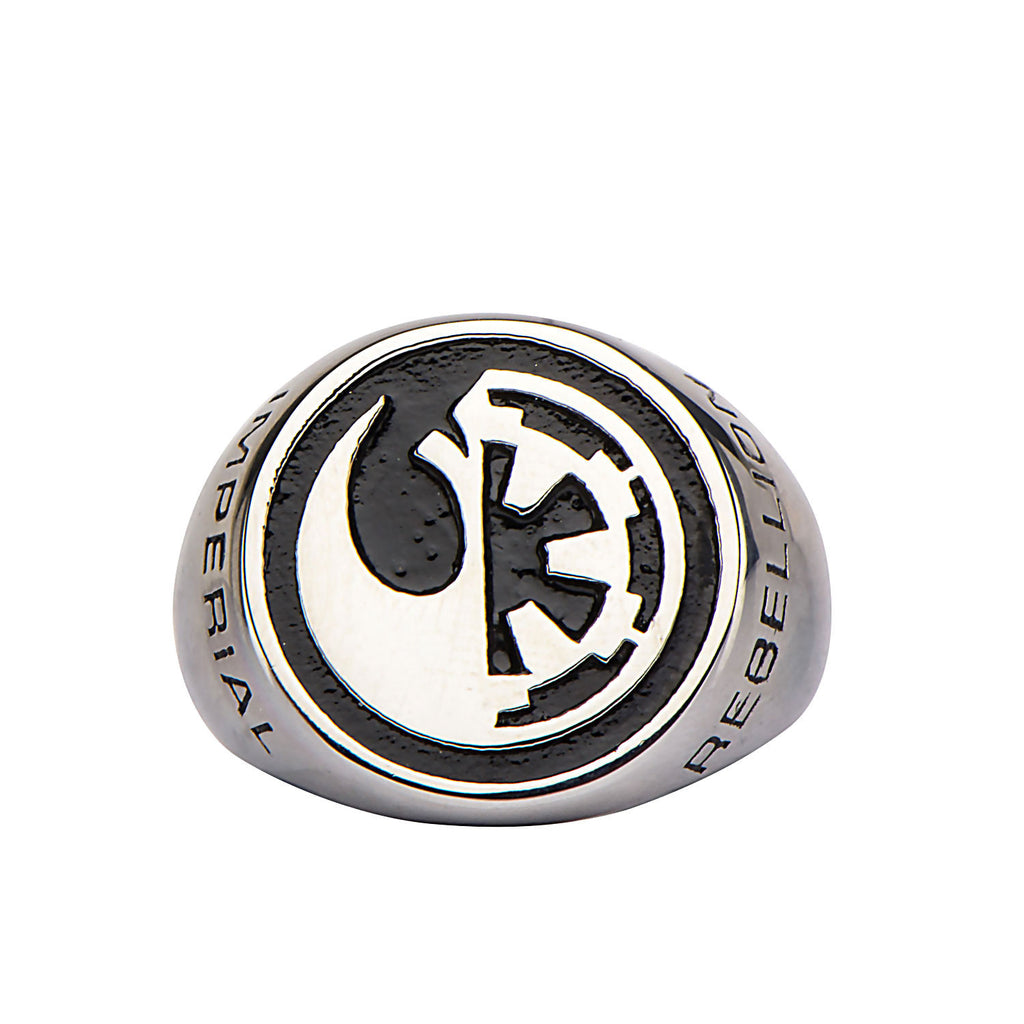 Star Wars Rogue One Rebel Alliancegalactic Empire Symbol Ring