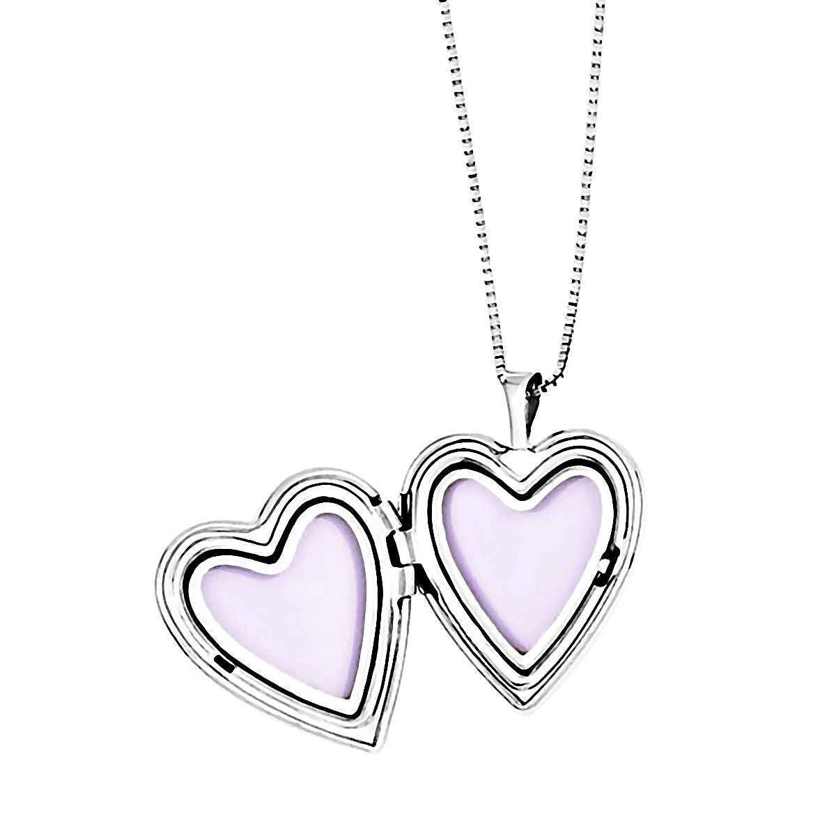 Two style just like mommy 925 silver heart locket and pendant 3 stone just like mommy genuine diamond silver locket and pendant necklace set 1000jewels aloadofball Images