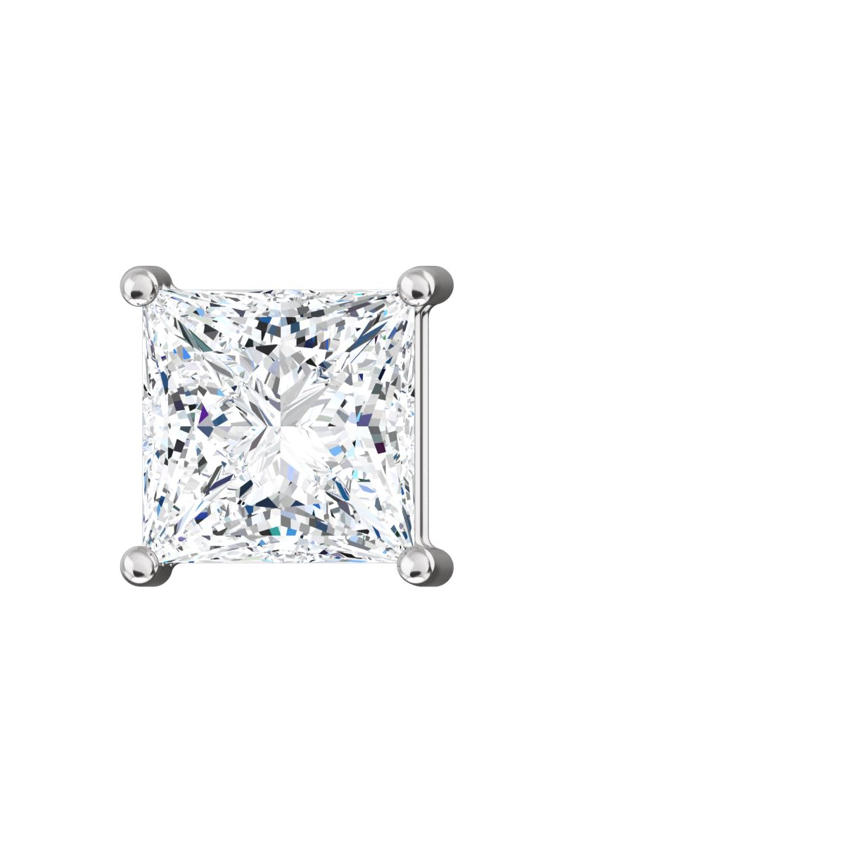 earrings stud emerald square graff a collections diamond cut classic of pair