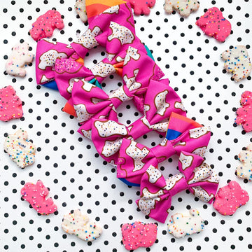 Animal Cookies Bow