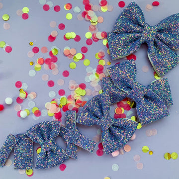 Unicorn Dream Glitter Bow