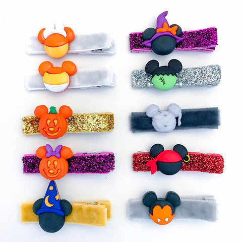 Mickey + Minnie Dress Up Bitsy Clips
