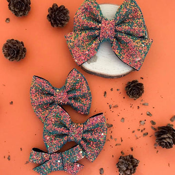 Changing Seasons Glitter Bow
