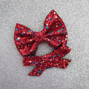 Wrap It Up Glitter Bow