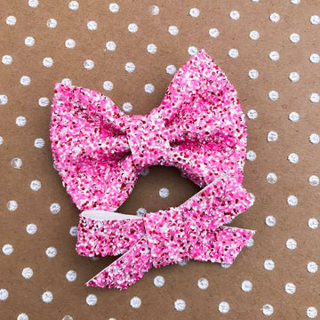 All You Need Is Love Glitter Bow