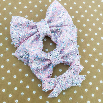 Dunkaroos Sequin Bow