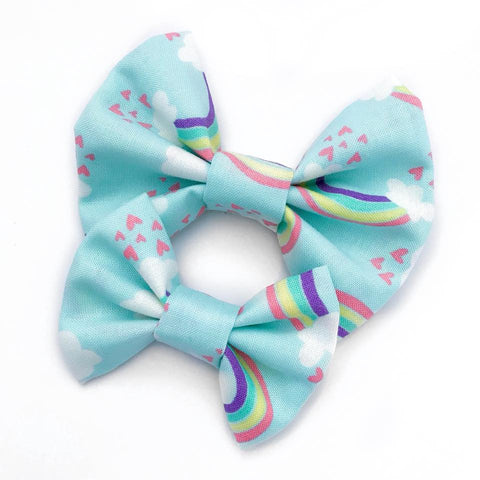 Summer Rainbow Bow |BLUE|