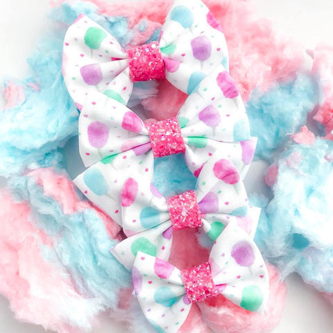 Cotton Candy Dreams Bow