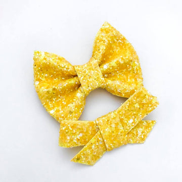 Liquid Luck Glitter Bow