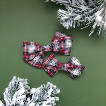 Classic Plaid Bobbi Bow