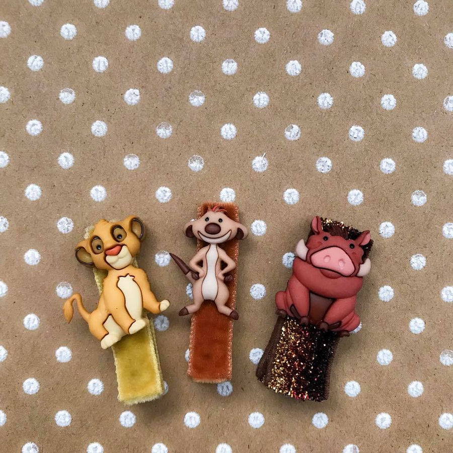 Lion King Bitsy Clips