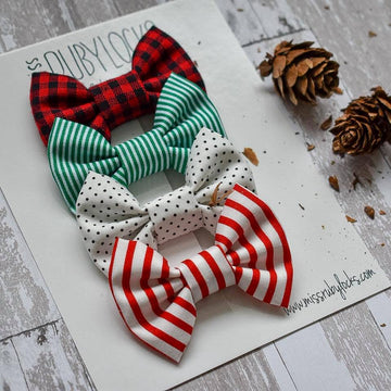 Holiday Basics Mini Bow Set