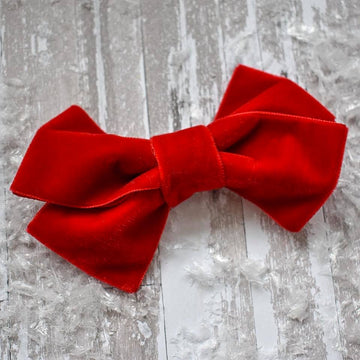 Red Velvet Bobbi Bow