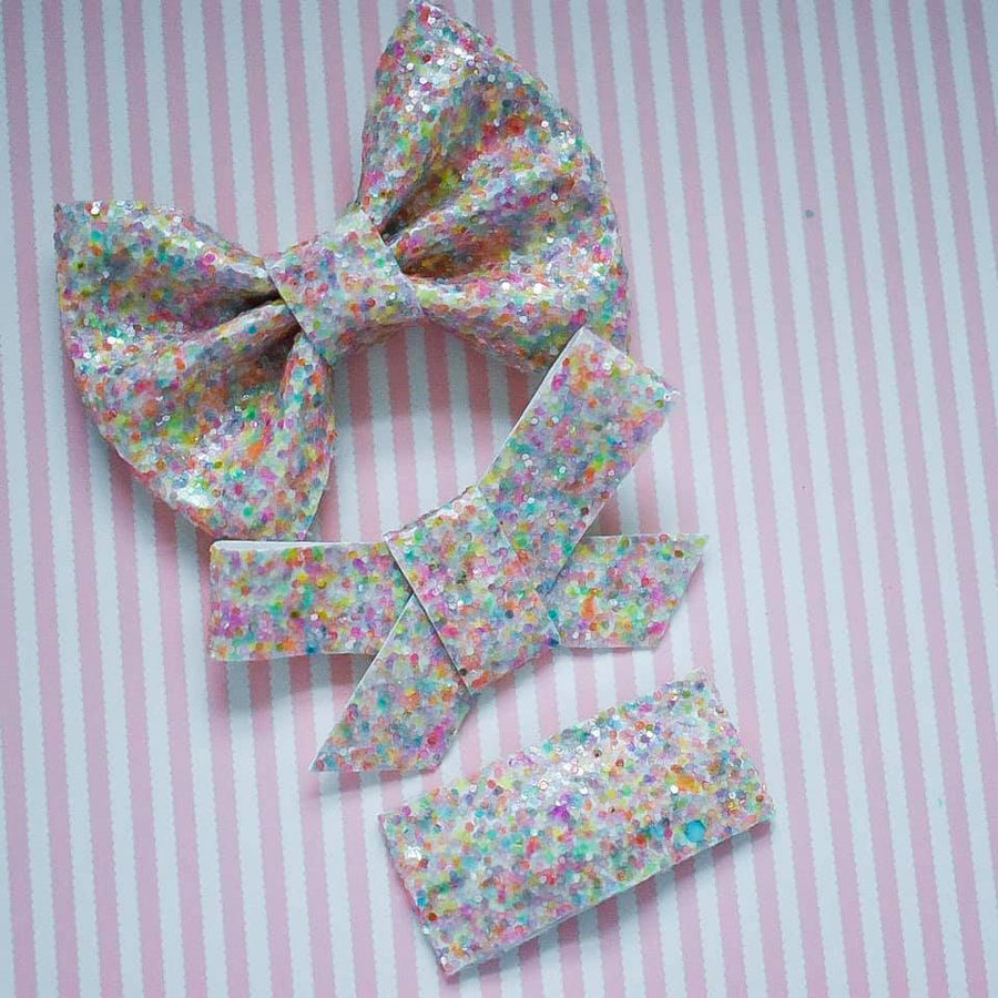 Sugar Shock Glitter Bow