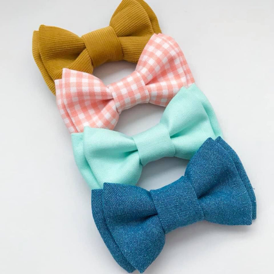 Assorted Clip On Bow Ties