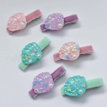 Seashell Bar Clips