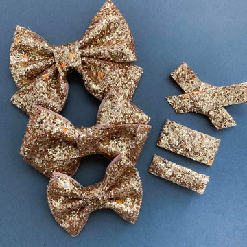 GLOW IN THE DARK Golden Skies Bow