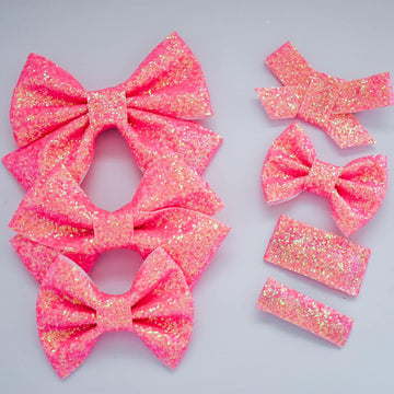 Twinkle Toes Glitter Bow