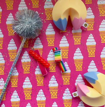 Twizzler + Rainbow Cake Bar Clips