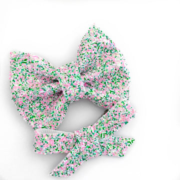 Watermelon Sugar Glitter Bryn or Beverly Bow