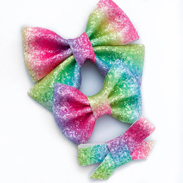 Over The Neon Rainbow Bow