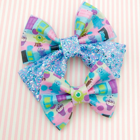 Monsters Inc. Bow