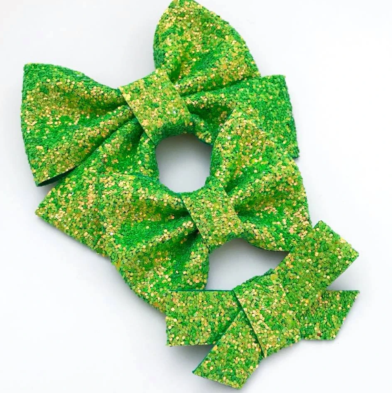 Polyjuice Potion Glitter Bow