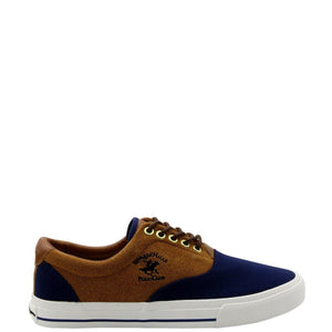 Men's Chambray Suede Sneaker