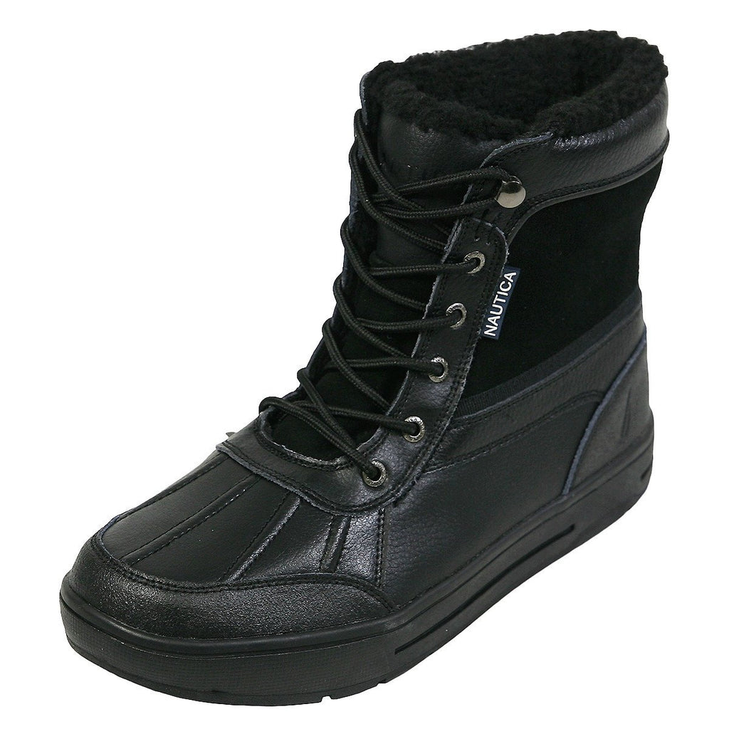 Nautica - Men's Luckview Winter Duck Boots - Black - V.I.M. - 1