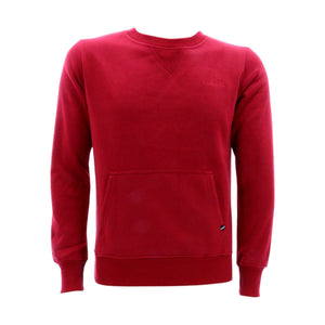 Floose - Men's Fleece Crew Tc Fabric Sweatshirt - Red - V.I.M. - 1