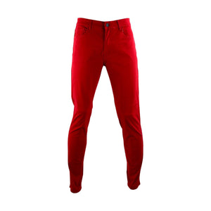 Azazel Men's Twill Stretch Pant - Red - V.I.M. - 1