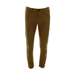 M Society - Men's Skinny Stretch Twill Jean - Wheat - V.I.M. - 1