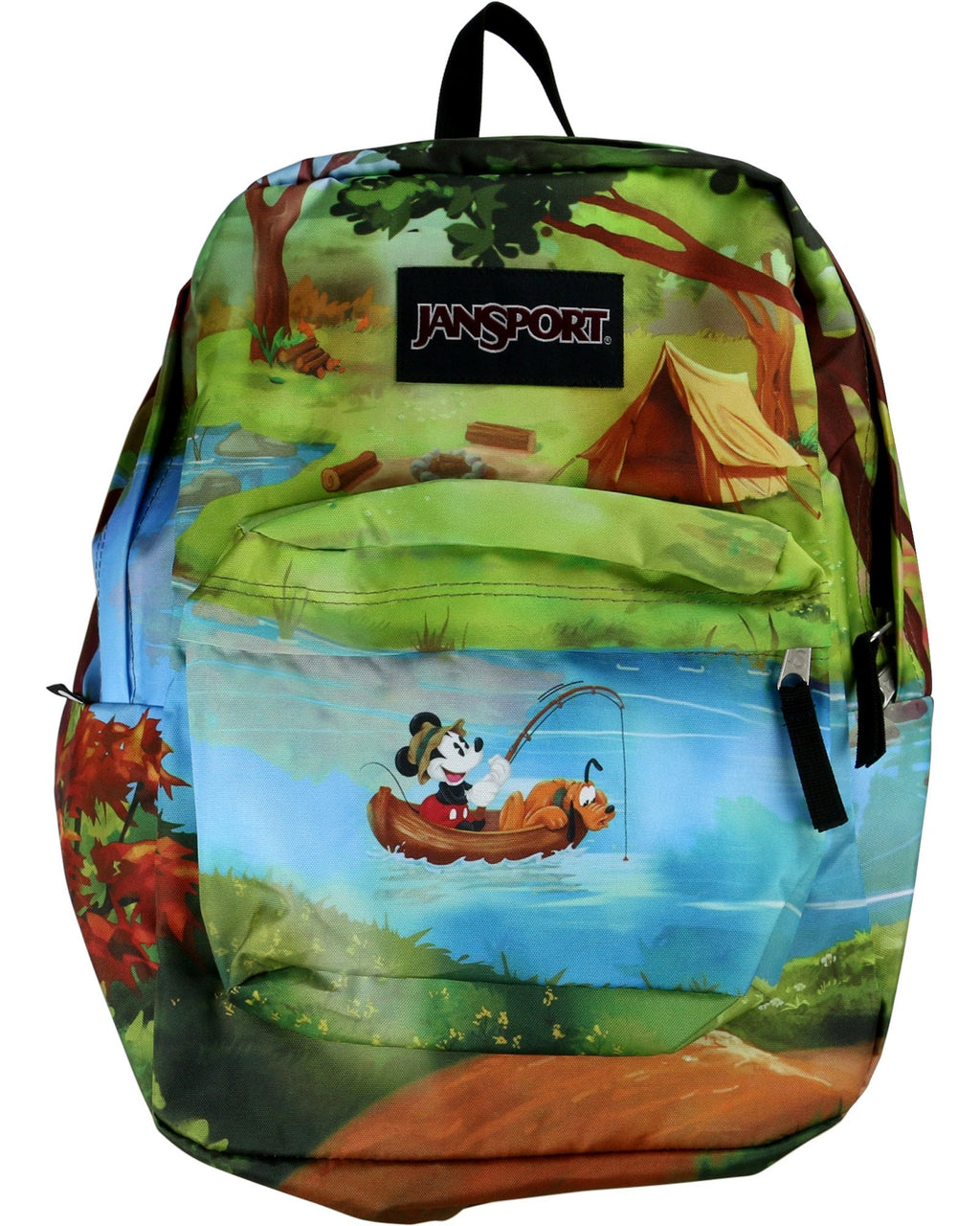 Jansport - High Stakes Mickey And Pluto Backpack - V.I.M. - 1