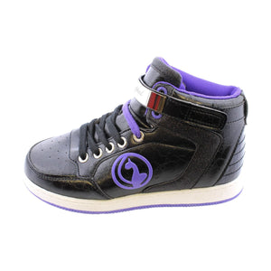 Baby Phat- Girls' Ella Sneakers - Black/Purple - V.I.M. - 2