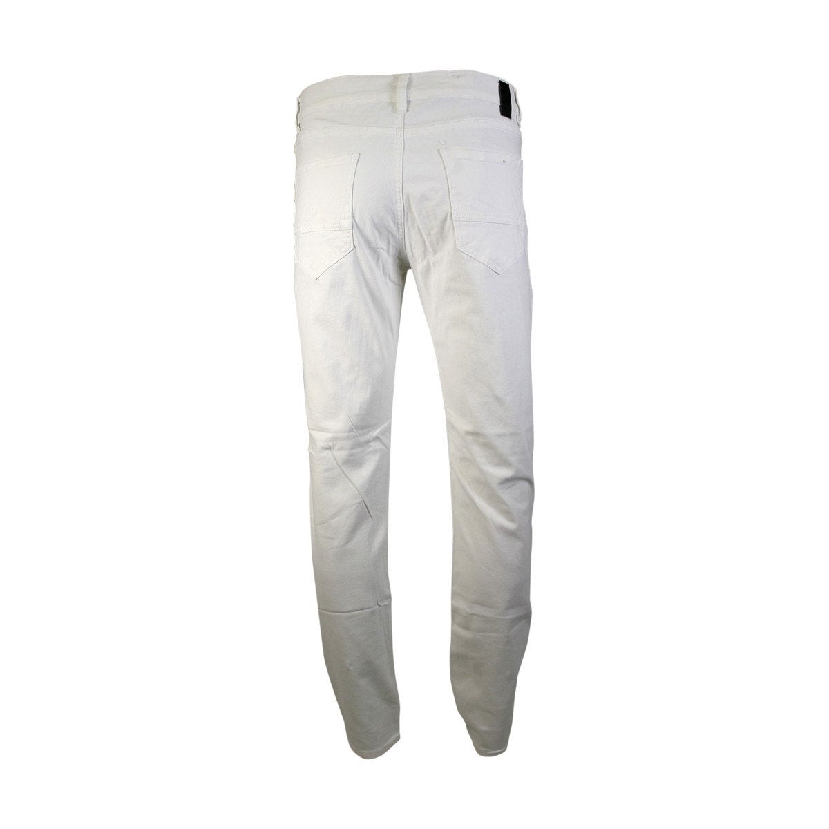 Azazel - Men's Twill Stretch Pants - White - V.I.M. - 2