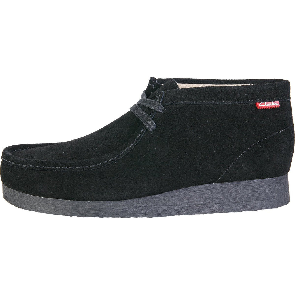 Clarks - Men's Stinson Hi Wallabee Boot - Black Suede - V.I.M. - 2