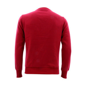 Floose - Men's Fleece Crew Tc Fabric Sweatshirt - Red - V.I.M. - 2
