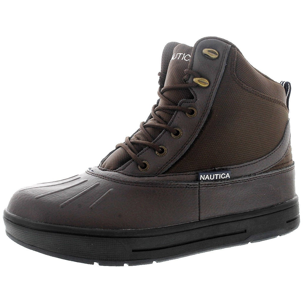 Nautica - Men's New Bedford Waterproof Outdoor Boots - Brown - V.I.M. - 1